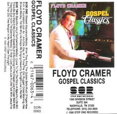 Cramer, Floyd / Gospel Classics (1990) / Step One Records SOR-0063 (Cassette), $4.00