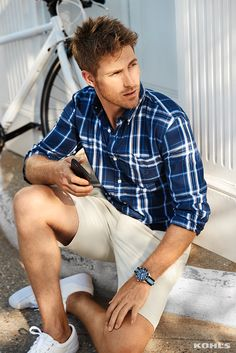 Calling all weekend warriors! New performance fabrics from Chaps are designed to keep up with an active lifestyle, while fresh plaid layouts and button-down collars maintain a polished look. Master casual spring style with Chaps and Kohl's.