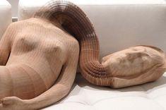 Li Hongbo - flexible paper sculptures