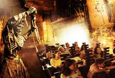 The Mummy ride at Universal Studios in Orlando, love it!  Great ride but I forgot it was part Roller coaster...my grandkids lost some trust in Pop Pop cause I told them it wasn't bad