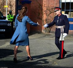 Fancy TV: The Duchess of Cambridge: Kate is glamorous in a d...