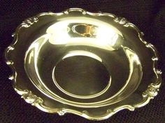 GORHAM SILVER RONDO LIKE MELROSE PATTERN BON BON BOWL / SERVING TRAY / DISH - Search by seller name: FineThings4sale