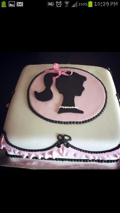 Barbie party  Have an idea if it works for someone down there to make this. If it don't work out Ill have it done here and hall the darn thing some how it better not get messed up. I really LOVE THIS CAKE!! Hope U ALL Do, BE HONEST!!