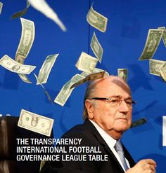 50%. The mark Transparency Int'l gave #FFA in terms of five key aspects of its governance. http://www.footballtoday.com.au/tabs/blog