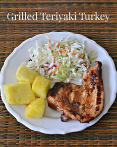 Grilled Teriyaki Turkey