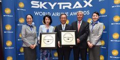 """ANA, Japan's only 5-star airline, has been named the leading airline in two categories at the prestigious 2016 World Airline Awards hosted by SKYTRAX. The awards for """"World's Best Airport Services"""" and """"Best Airline Staff in Asia"""" were presented in a special ceremony at the Farnborough International Airshow."""
