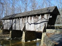 The 1911 Pisgah Covered Bridge, in the Uwharrie National Forest, is the only remaining covered bridge in Randolph County, and one of the two remaining covered bridges in the state of North Carolina.