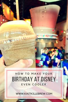 How to make your birthday in Disney even COOLER Disney World Birthday, Disney World Food, Disney World Planning, Walt Disney World Vacations, Disneyland Trip, Disney Travel, Disney Parks, Birthday At Disneyland, Disney Worlds