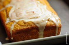 Pumpkin Banana Bread with Vanilla Bean Glaze Recipe - Cooking | Add a Pinch | Robyn Stone