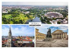 Viele Grüsse aus München | Urlaubsgrüße | Echte Postkarten online versenden…