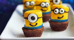 Minions! Millions of them! Made with marshmalllows! This treat is so cute, it's downright despicable.