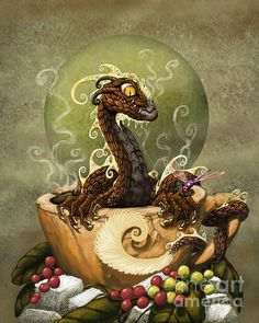 Coffee Dragon - Stanley Morrison