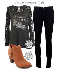 Free People long sleeve top / J Brand denim skinny jeans / Charlotte Russe high heel booties / Juicy Couture crown