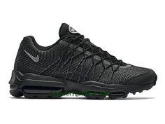 check out e0c92 fe7c9 Nike Air Max 95 Ultra Jacquard Chaussures Officiel Running Prix Pas Cher  Pour Homme Noir 749771