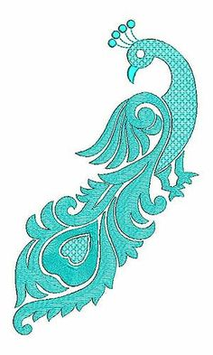 Art Mexicano Dibujo 23 Ideas For 2019 - MyStyles Peacock Embroidery Designs, Border Embroidery Designs, Paper Embroidery, Applique Designs, Embroidery Applique, Machine Embroidery Designs, Embroidery Patterns, Embroidery Stitches, Peacock Drawing
