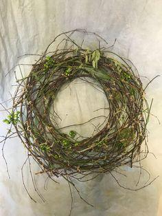 Transparent wreath Theme: nature Grapevine Wreath, Grape Vines, Wreaths, Nature, Flowers, Decor, Naturaleza, Decoration, Door Wreaths