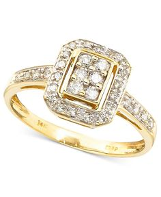 Diamond Ring in 14k Gold (1/4 ct. t.w.)