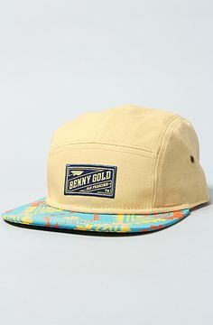 The Exclusive Tribal 5-Panel Hat by Benny Gold