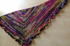 Finished road trip scarf - come and crochet along with Crafternoon Treats at crafternoontreats.com