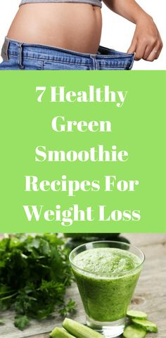 I have here some easy to follow 7 healthy green smoothie recipes for weight loss that's proven to be the best ways to quickly lose weight.