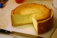 New York Style Cheesecake | To me, a good cheesecake isn't o… | Flickr