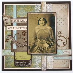 27 Beautiful Photo of Heritage Scrapbook Pages Embellishments . Heritage Scrapbook Pages Embellishments Roccos Sister Heritage Ladys Page Thats Feminine Without Being Heritage Scrapbook Pages, Vintage Scrapbook, My Scrapbook, Scrapbook Designs, Scrapbooking Layouts, May Arts, Old Photos, Mini Albums, Paper Art