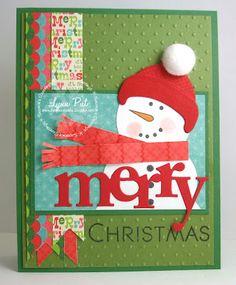PTI - Merry Christmas card by Lynn Put