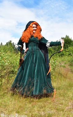Merida Bow Archery Brave Disneyprincess