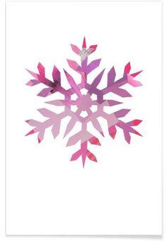 Snowflake 3 as Premium Poster