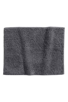 Bath mat: Bath mat in sturdy cotton terry with a taped trim.