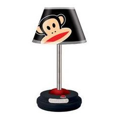 Decorate any room for any age with this fun and trendy Paul Frank Table Lamp…