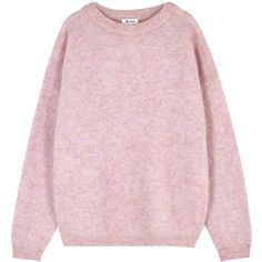 Acne Studios Pink Mohair Blend Jumper - Size M ($345) ❤ liked on Polyvore featuring tops, sweaters, acne studios, pink sweater, jumper top, jumpers sweaters and pink top