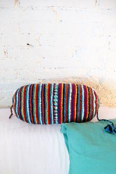Pillow Crochet Marrakech    multicolored por lacasadecoto en Etsy, €24.00