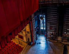 Théâtre de DOUAI : vue de la scène depuis la première passerellePhoto A.S Hagen