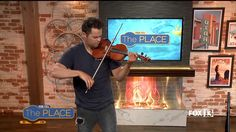 """FIDGET SPINNER Violinist Plays """"Shape of You"""" on Live TV 