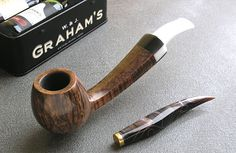 Mammuto   a handcrafted tobacco pipe by Jan Zeman