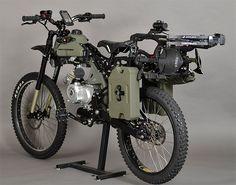 Motoped Survival Bike: Sollen die Zombies doch kommen - Engadget Deutschland