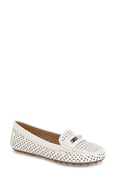 MICHAEL MICHAEL KORS 'Everett' Loafer (Women). #michaelmichaelkors #shoes #flats