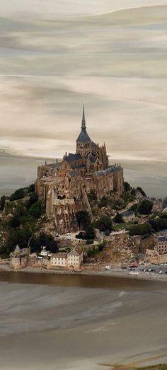 Mont-Saint Michel, France #travel #france