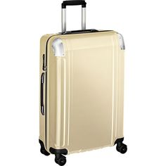 8f7a9d466 Zero Halliburton Geo Polycarbonate 26 Inch 4 Wheel Spinner Travel Case,  Polished Gold, One Size