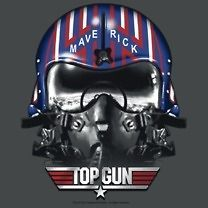 Licensed Top Gun Movie Maverick Helmet Tom Cruise Tee Shirt Adult Sizes S-3XL