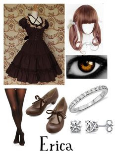 """""""black butler (oc)"""" by ironically-a-strider21 ❤ liked on Polyvore featuring COS, BERRICLE and Blue Nile"""