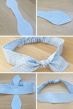 Diy Hair Scrunchies, Diy Hair Bows, Diy Bow, Sewing Hacks, Sewing Tutorials, Sewing Patterns, Fabric Crafts, Sewing Crafts, Sewing Projects