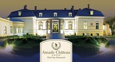Chateau AMADE Slovakia Hotel Spa, My Design, Beautiful Places, Restaurant, Mansions, House Styles, Castles, Spaces, Home Decor