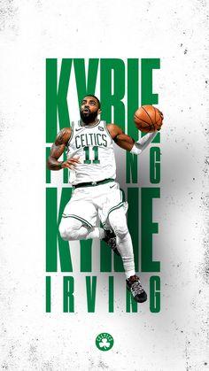 Basket Ball Nba Kyrie Irving 62 Ideas For 2019 Irving Wallpapers, Nba Wallpapers, Basketball Posters, Basketball Art, Basketball Design, Sports Posters, Kyrie Irving, Layout Design, Flyer Design