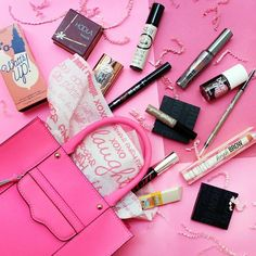 Now THIS is a pretty mess we don't mind picking up ;) #benefitbeauty