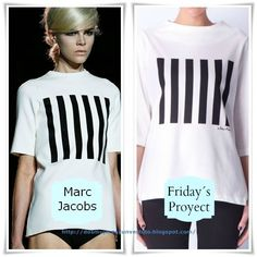 Clon Marc Jacobs vs Fridays Proyect