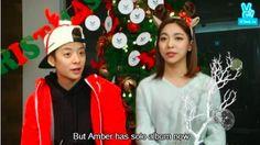 Noticias K-POP: Luna revela que Amber está preparando um novo álbu...