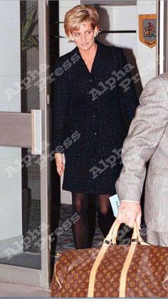 Princess Diana , Départ of Tour of Australia - Octobre  1996