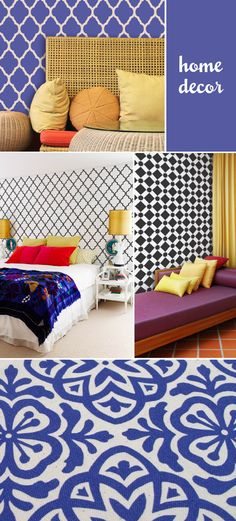 Our Moroccan Stencils featured on Bigger, Brighter, Bolder. So cool!
